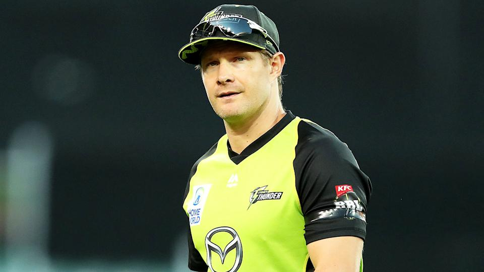Shane Watson (pictured) during a BBL match.