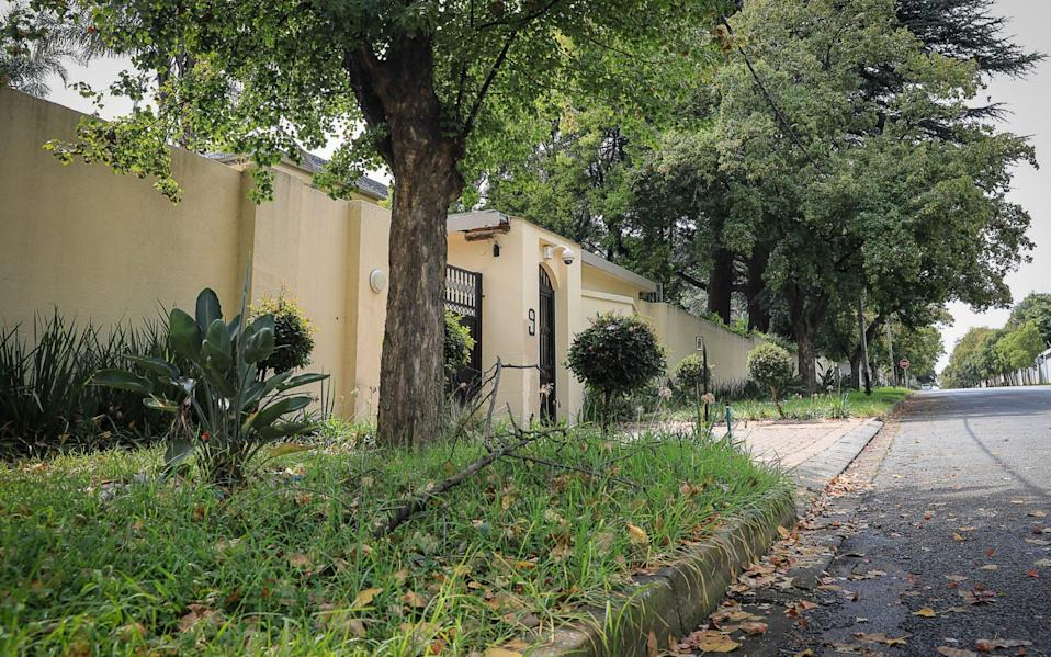 The front of the property is overgrown and unkempt - Sebabatso Mosamo