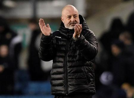 FILE PHOTO: Soccer Football - FA Cup Fourth Round - Millwall vs Rochdale - The Den, London, Britain - January 27, 2018 Rochdale's manager Keith Hill applauds the fans at the end of the match Action Images/Tony O'Brien