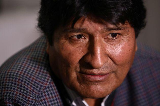 Former Bolivian President Evo Morales looks on during an interview with Reuters, in Mexico City, Mexico November 15, 2019. REUTERS/Edgard Garrido