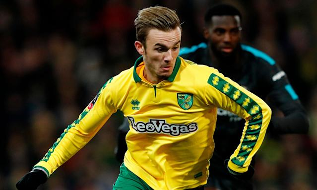 James Maddison is not short of suitors, with Leicester, Southampton, Everton, West Ham and Fulham vying for the Norwich midfielder.