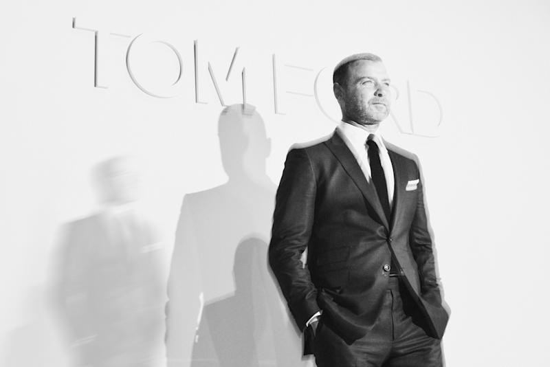 Liev Schrieber attends the Tom Ford Spring 2018 runway show as part of New York Fashion Week.