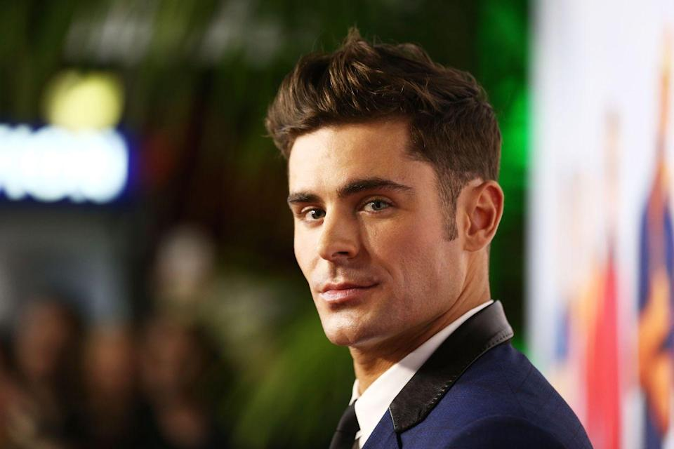 "<p>While working out with Hugh Jackman, Efron had a brush with death. ""I cycled with him in London, but I'm not one to ride a bike early in the morning in traffic so it turned out to be quite dangerous,"" Efron said on <a href=""https://people.com/movies/zac-efron-almost-died-bike-ride-hugh-jackman/"" rel=""nofollow noopener"" target=""_blank"" data-ylk=""slk:The Graham Norton Show"" class=""link rapid-noclick-resp""><em>The Graham Norton Show</em></a>. ""I followed Hugh around a few cars and suddenly there was a double decker bus right in front of me. I slammed on the brakes, went under the front tire, and narrowly missed death.""</p>"