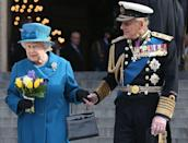 <p>Leaving a Service of Commemoration for troops who were stationed in Afghanistan.</p>