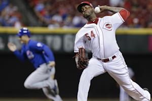 The Reds elected to hang on to Aroldis Chapman. (AP)
