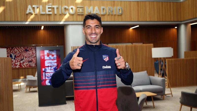 Atletico Madrid sign Luis Suarez from Barcelona