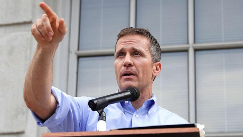Missouri Gov. Eric Greitens demands removal of state senator over Trump assassination remark
