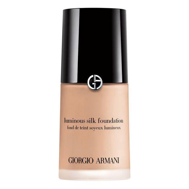 "<p><strong>Buy It! </strong>Giorgio Armani Beauty Luminous Silk Foundation, $64; <a rel=""nofollow"" href=""https://click.linksynergy.com/fs-bin/click?id=93xLBvPhAeE&subid=0&offerid=329738.1&type=10&tmpid=6653&RD_PARM1=http%253A%252F%252Fwww.giorgioarmanibeauty-usa.com%252Fmakeup%252Ffoundation%252Fliquid-foundation%252Fluminous-silk-foundation%252FA041.html&u1=POBEAUarmanipeopleperkKFAPR"">armanibeauty.com</a><strong><em>**Note: This discount excludes Power Fabric Foundation, Ecstasy Lacquer: Front Row, Lip Maestro: Front Row, Limited Edition Runway Collection and Acqua for Life Bracelet</em></strong></p>"