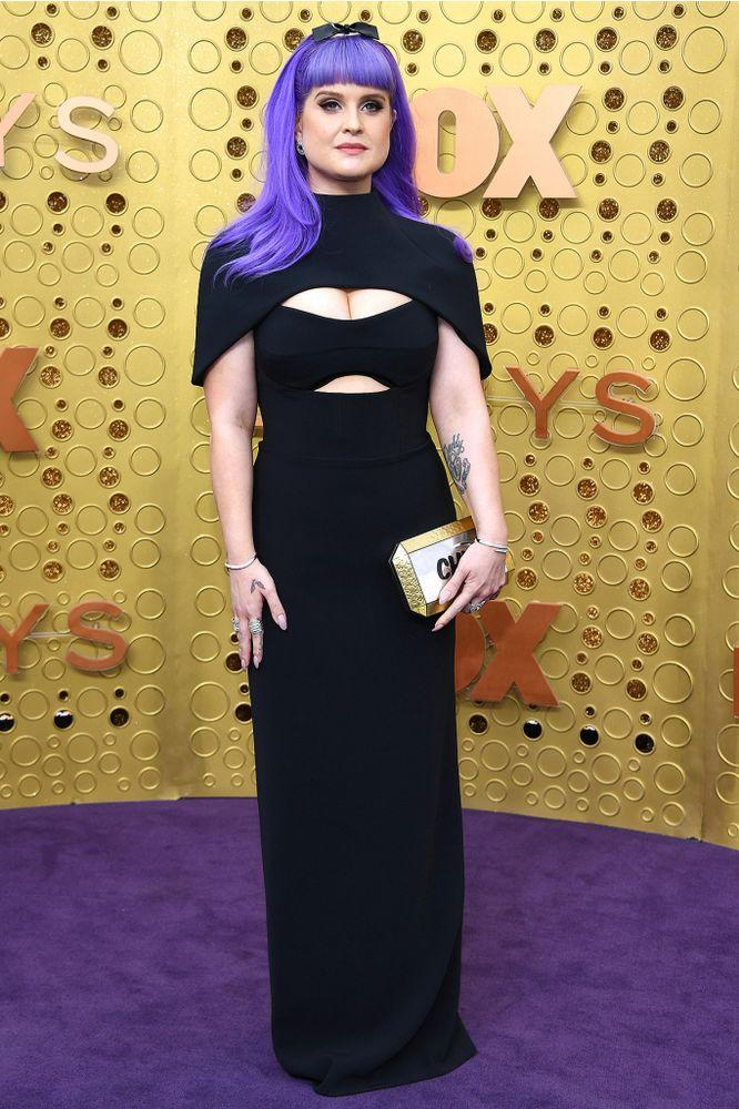 Kelly Osbourne at the 2019 Emmys in L.A. on Sept. 22. | Kevin Mazur/Getty