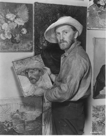 "Kirk Douglas as Vincent van Gogh in ""Lust for Life."" 1955Photo/Art by:Unknown Photographer"