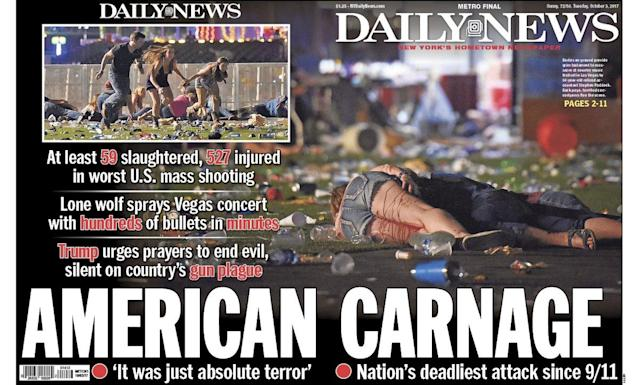 <p>'Daily News,' New York, N.Y. (newseum.org) </p>