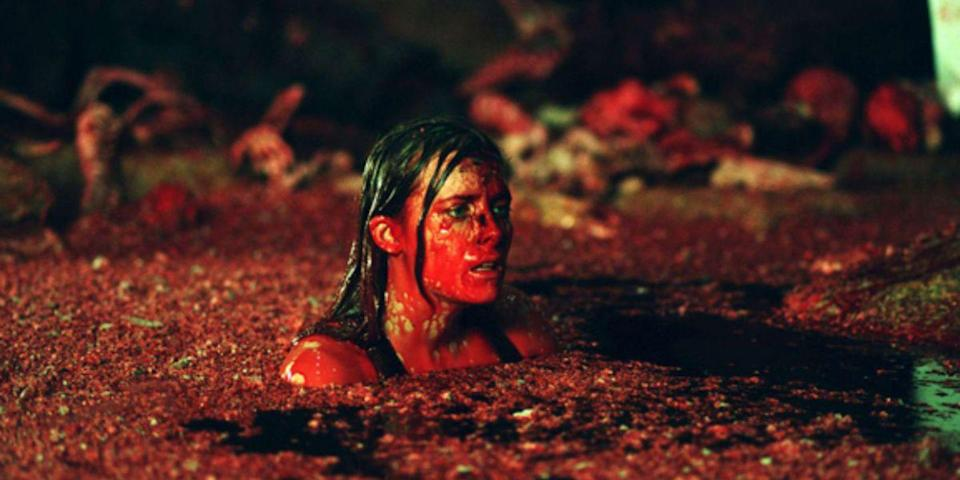 """<p>Neil Marshall's spelunking spook fest feels like an exercise in masochism. Not only does his survival tale have its ladies battle Mother Nature in an unstable cave system, but it also requires they fend off a slew of underground humanoids. Pausing for breathers is a must, as is watching the director's cut. <a class=""""link rapid-noclick-resp"""" href=""""https://www.amazon.com/Descent-Shauna-Macdonald/dp/B000MFYTD2/?tag=syn-yahoo-20&ascsubtag=%5Bartid%7C10056.g.10247453%5Bsrc%7Cyahoo-us"""" rel=""""nofollow noopener"""" target=""""_blank"""" data-ylk=""""slk:Watch Now"""">Watch Now</a><br></p>"""