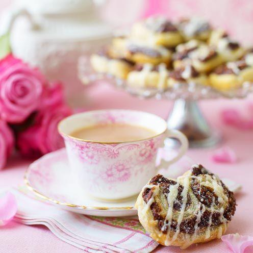 """<p>This recipe is great for an impromptu afternoon tea.<br><br><strong>Recipe:</strong> <a href=""""https://www.goodhousekeeping.com/uk/food/recipes/fancy-chocolate-biscuits"""" rel=""""nofollow noopener"""" target=""""_blank"""" data-ylk=""""slk:Fancy chocolate biscuits for friends and family"""" class=""""link rapid-noclick-resp"""">Fancy chocolate biscuits for friends and family </a><br> </p>"""
