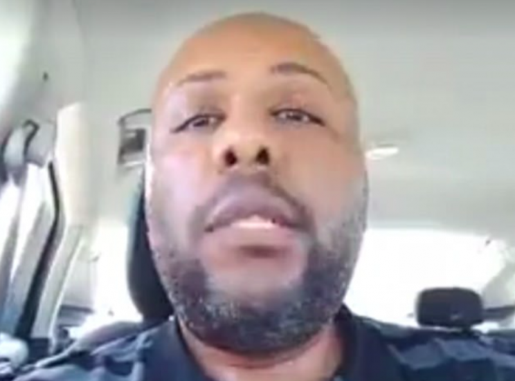 Steve Stephens stopped off at a McDonald's for a chicken nugget meal (Facebook)