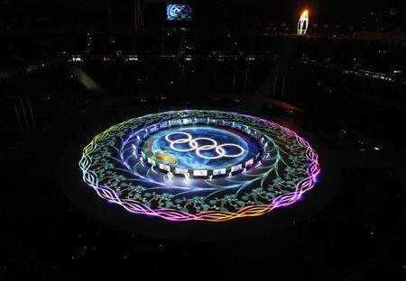 Pyeongchang 2018 Winter Olympics - Closing ceremony - Pyeongchang Olympic Stadium - Pyeongchang, South Korea - February 25, 2018 - General view during the closing ceremony. REUTERS/Pawel Kopczynski