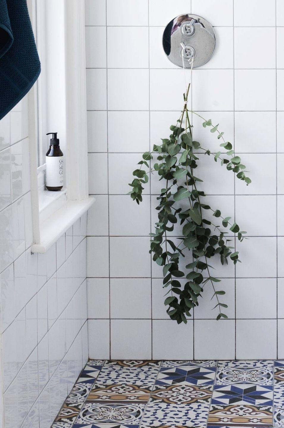 <p>If you're committed to making self-care a priority this year, start off on the right foot by hanging bunches of eucalyptus in your shower.</p>