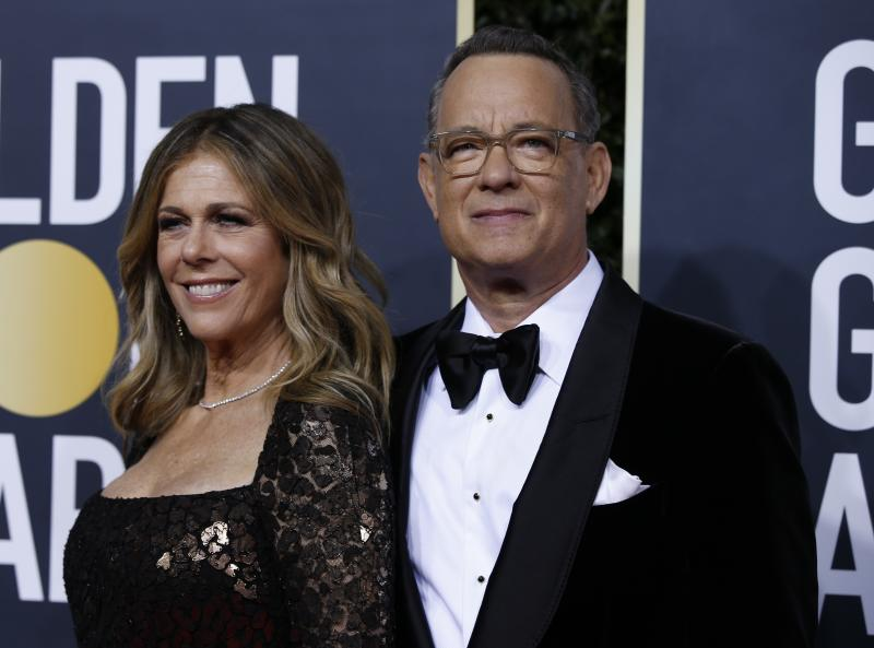 Tom Hanks and Rita Wilson, who tested positive for the coronavirus, are making the most of their time in quarantine by playing cards.