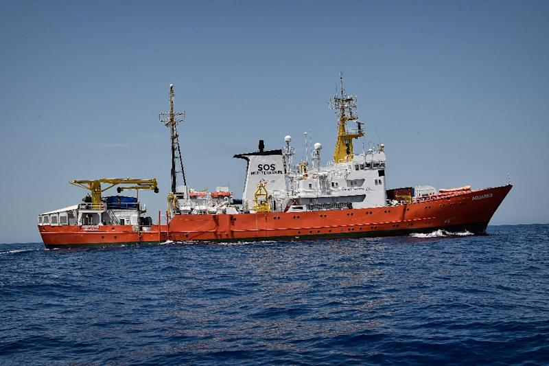 Italy refused to take in 629 migrants on the Aquarius rescue ship (AFP Photo/LOUISA GOULIAMAKI)