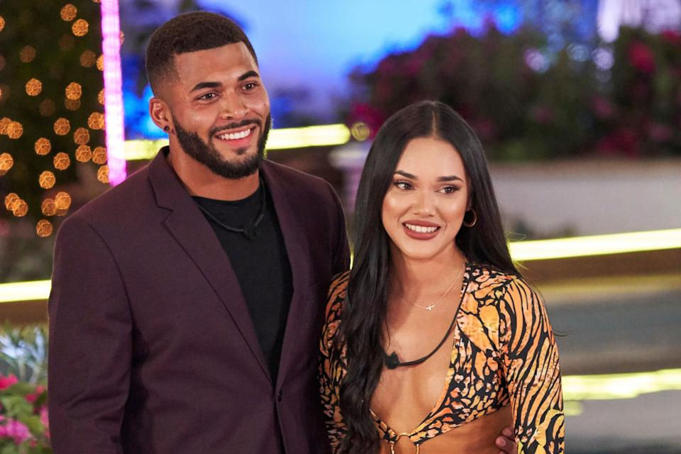 """<p><a href=""""https://www.glamour.com/story/love-island-cast-packing?mbid=synd_yahoo_rss"""" rel=""""nofollow noopener"""" target=""""_blank"""" data-ylk=""""slk:Love Island USA"""" class=""""link rapid-noclick-resp""""><em>Love Island USA</em></a> contestants Johnny Middlebrooks and Cely Vazquez have called it quits. The reality stars first linked up during season two of the reality dating series, which aired in the Summer of 2019. </p> <p>""""Because you've all been such a close part of our relationship, I wanted to share with you that Johnny and I are no longer together,"""" Vazquez <a href=""""https://twitter.com/Celybird/status/1347988559068712962"""" rel=""""nofollow noopener"""" target=""""_blank"""" data-ylk=""""slk:tweeted on January 9"""" class=""""link rapid-noclick-resp"""">tweeted on January 9</a>. """"While our relationship has been public from the start, I do ask that you respect this decision and our privacy during this time.""""</p> <p>She continued, """"There is no reason to speculate, I am so thankful for our time together, but now it's simply time for each of us to focus on our personal journey. I hope that you continue to support each of us individually as we move forward, heal and continue to follow our dreams."""" </p> <p>Middlebrooks reposted her tweet on Instagram stories, writing, """"all love."""" </p> <p>""""Thank you so much for everything. I appreciate the time we spent together on this unforgettable journey,"""" he wrote in a second slide, per <a href=""""https://people.com/tv/love-island-cely-vazquez-johnny-middlebrooks-split/"""" rel=""""nofollow noopener"""" target=""""_blank"""" data-ylk=""""slk:People"""" class=""""link rapid-noclick-resp""""><em>People</em></a>. """"I will forever cherish the fun we had, the laughs we shared, and the memories we created. Thank you to all of the fans who loved and supported us the whole way through. Much love."""" </p>"""