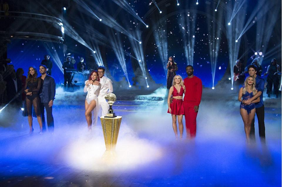 "<p>Both the dancers and stars are paid for appearing on the show. <a href=""https://variety.com/2019/tv/news/sean-spicer-dancing-with-the-stars-salary-1203309356/"" rel=""nofollow noopener"" target=""_blank"" data-ylk=""slk:According to reports"" class=""link rapid-noclick-resp"">According to reports</a>, celebrities earn a <a href=""https://variety.com/2019/tv/news/sean-spicer-dancing-with-the-stars-salary-1203309356/"" rel=""nofollow noopener"" target=""_blank"" data-ylk=""slk:$125,000 signing bonus"" class=""link rapid-noclick-resp"">$125,000 signing bonus</a> and can earn up to $295,000 in total. </p>"