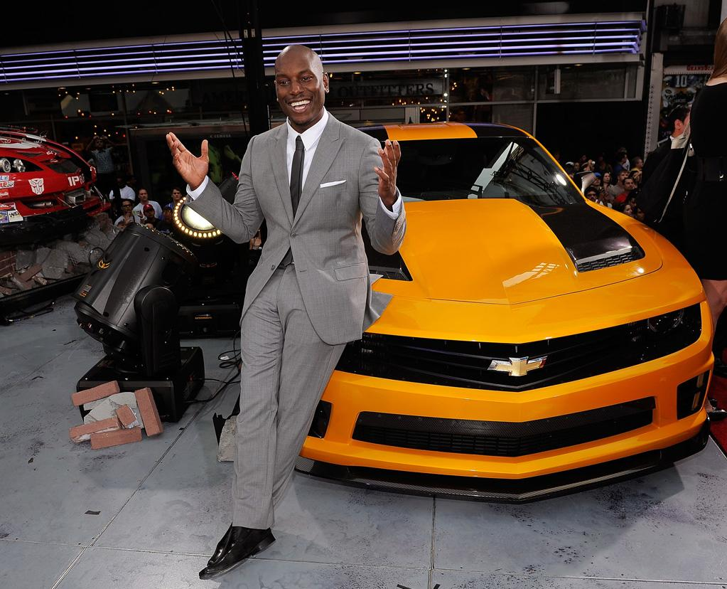 """<a href=""""http://movies.yahoo.com/movie/contributor/1804500453"""">Tyrese Gibson</a> at the New York City premiere of <a href=""""http://movies.yahoo.com/movie/1810159115/info"""">Transformers: Dark of the Moon</a> on June 28, 2011."""