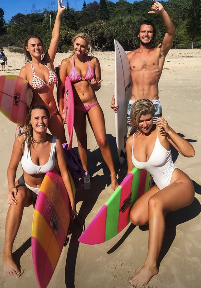 The Coffey family are making waves all over Instagram. Photo: Instagram/hollydazecoffeyyy