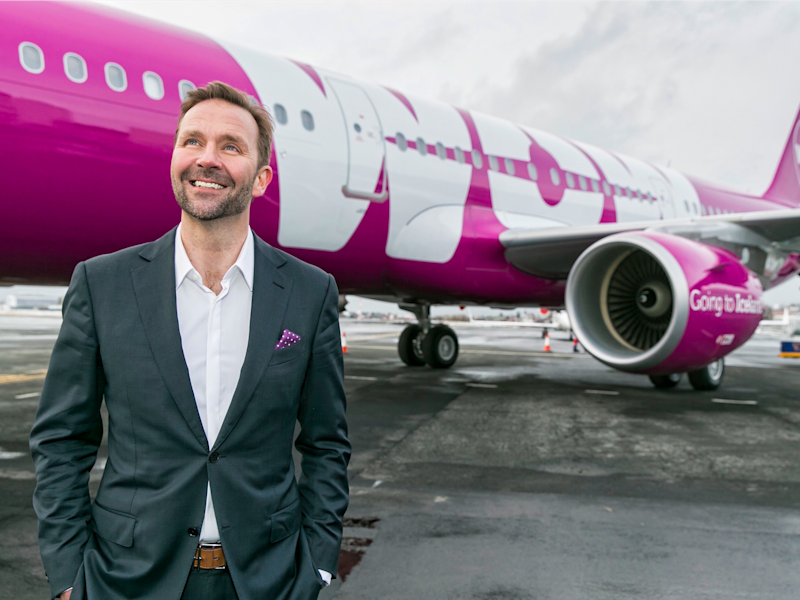 Wow Air CEO