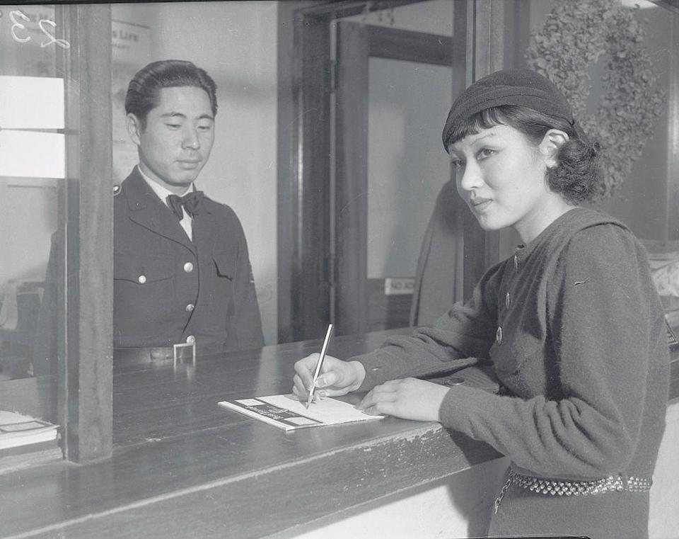 <p>Toshia Mori writes to her family in Japan, informing them that she was selected as one of the Wampas Baby Stars (which highlighted up-and-coming actresses) in 1932. The actress attended a Christmas dinner at the Biltmore Hotel as a result.</p>