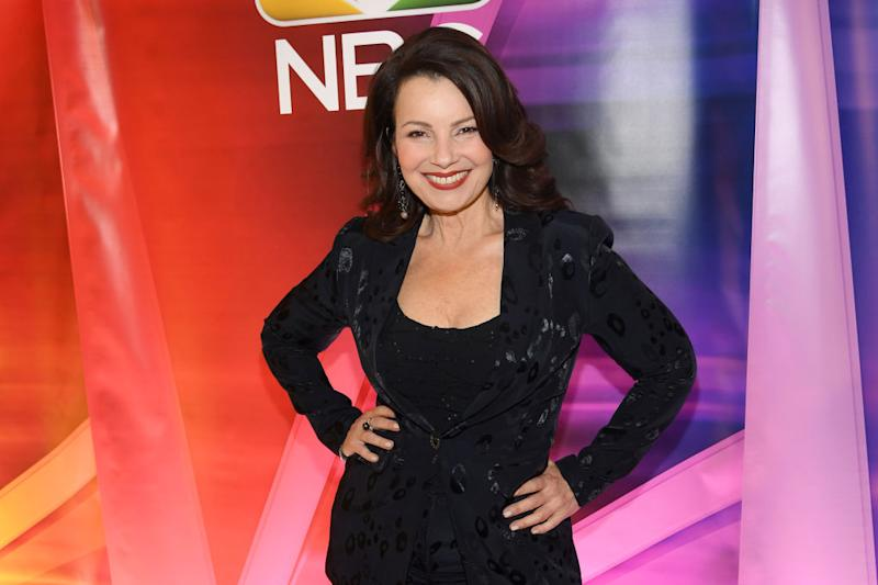 "Fran Drescher worked with future President Donald Trump on her show ""The Nanny."" (Photo: Dimitrios Kambouris/Getty Images)"