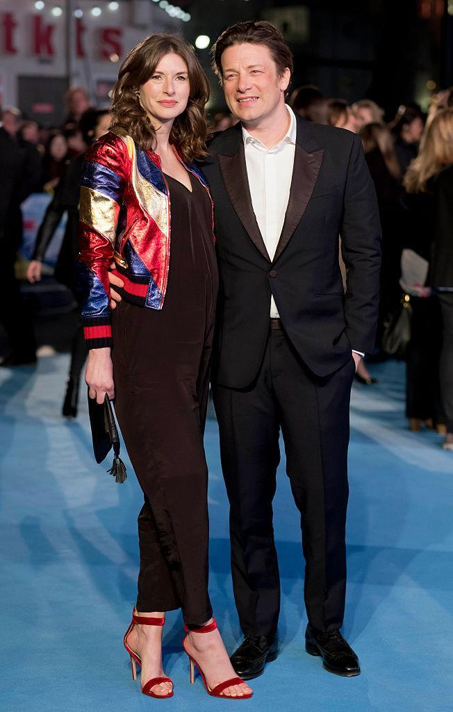 Jools and Jamie Oliver just after announcing she was pregnant with her fifth child [Photo: Getty]