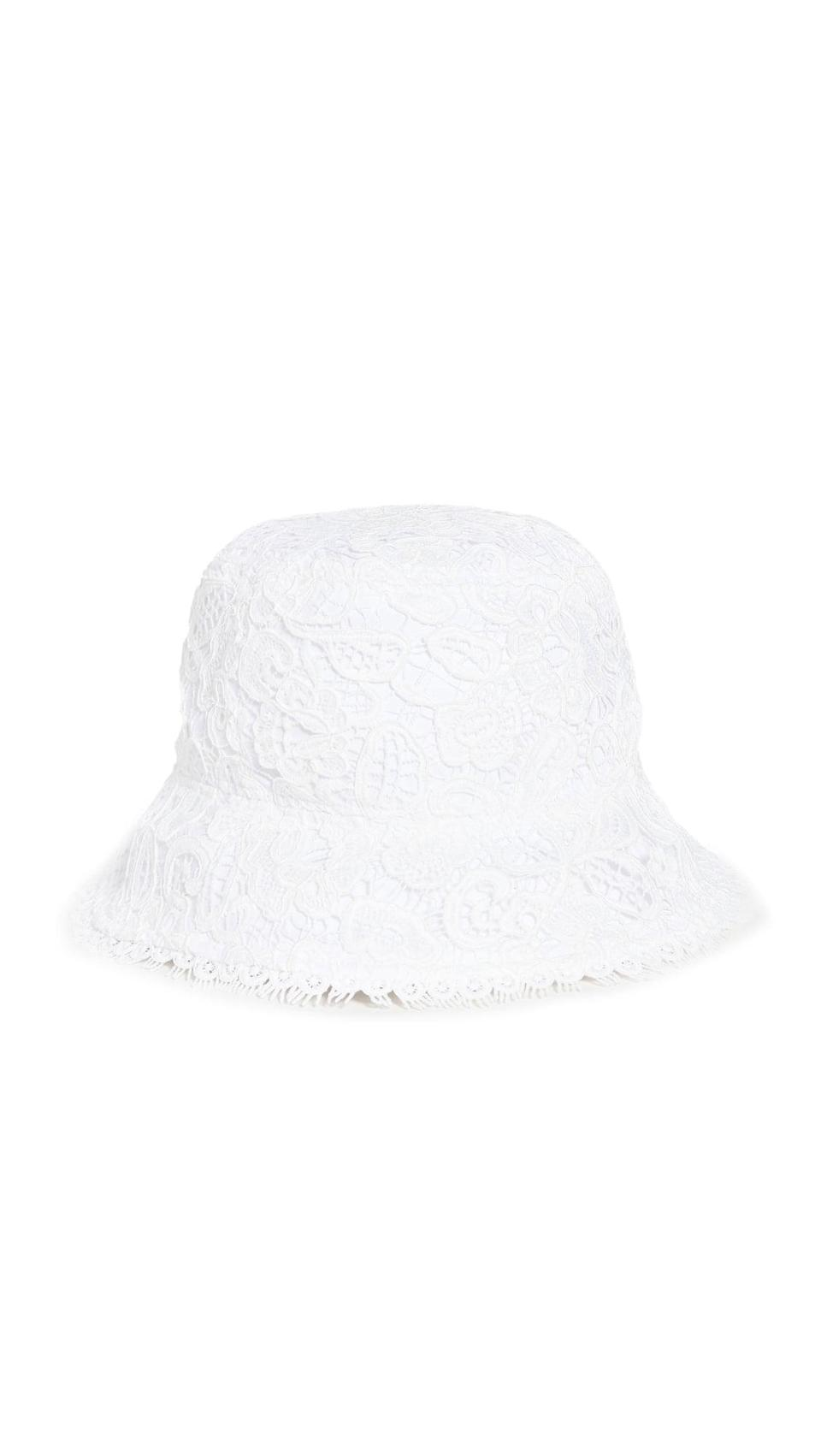 <p>Grab a bucket hat this summer to wear at the beach or poolside, like this <span>STAUD Lace Bucket Hat</span> ($125). It protects your skin and adds just the right amount of early 2000 nostalgia. </p>