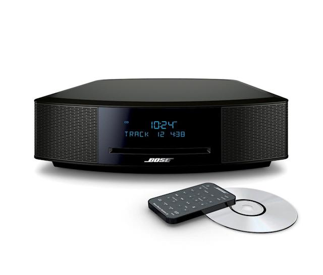 "<a href=""https://fave.co/2VEIqHn"">Bose Wave Music System IV in black</a> (Photo: Bose)"