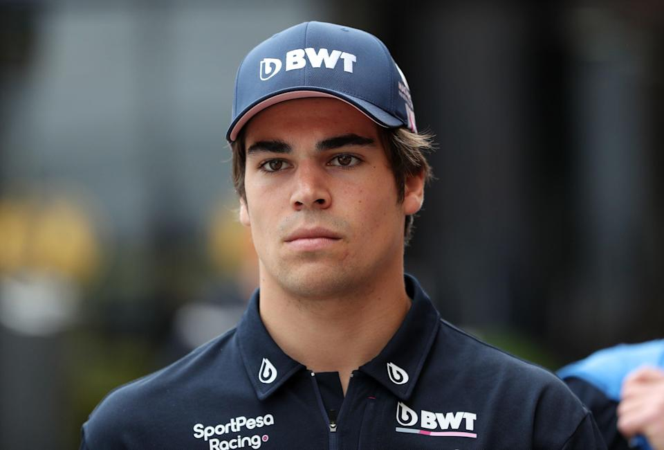 Lance Stroll has revealed he tested positive for coronavirus after the Eifel Grand Prix (PA)