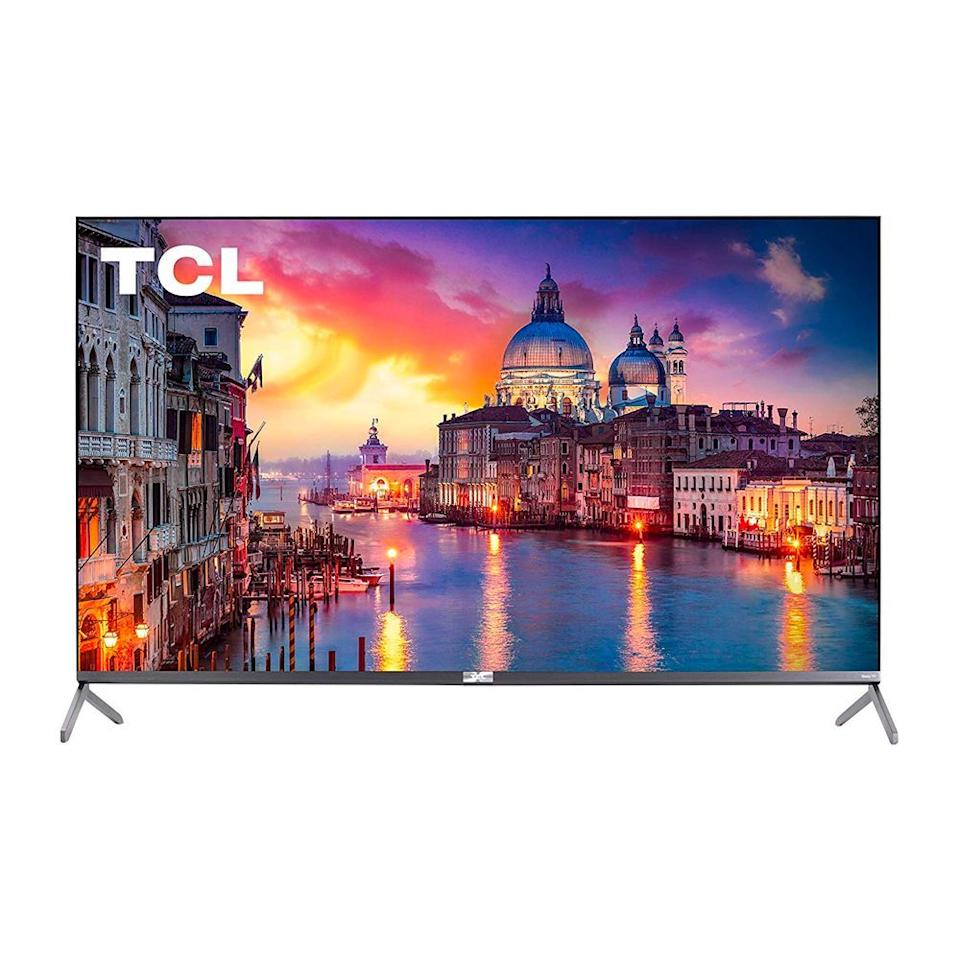 """<p><strong>TCL</strong></p><p>amazon.com</p><p><strong>$799.00</strong></p><p><a href=""""https://www.amazon.com/dp/B07V4TC9V8?tag=syn-yahoo-20&ascsubtag=%5Bartid%7C2089.g.3047%5Bsrc%7Cyahoo-us"""" target=""""_blank"""">Shop Now</a></p><p>This smart TV delivers a phenomenal picture despite its low price. It supports HDR, which produces a bright, lifelike image that's full of color. Best of all, it runs Roku as its platform, which offers an easy-to-use interface and pretty much every streaming app you could ask for.</p><p>The TCL remote lets you search for shows or movies with your voice, and it has hot keys for all your favorite streaming apps like Hulu and Netflix. We think that this TV from TCL is an excellent value considering its superb picture, slew of smart features, numerous ports, and ease of use.</p><p>If you're looking to stretch your dollar further, we also recommend TCL's more budget friendly <a href=""""https://www.amazon.com/TCL-Class-Dolby-Vision-Smart/dp/B07S5GVH6D?tag=syn-yahoo-20&ascsubtag=%5Bartid%7C2089.g.3047%5Bsrc%7Cyahoo-us"""" target=""""_blank"""">5-Series model</a> as well.</p><p><strong>More:</strong> <a href=""""https://www.bestproducts.com/tech/news/a477/new-roku-media-streaming-players/"""">Check Out Our Full Review of Roku Streaming Devices</a></p>"""