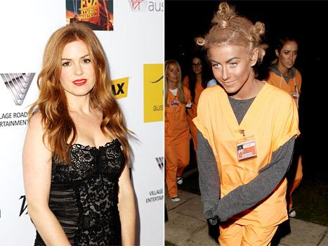 Isla Fisher Told Julianne Hough to Wipe Off Her Blackface on Halloween