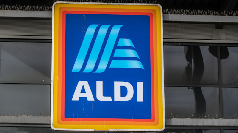 Pictured: ALDI logo. Image: Getty