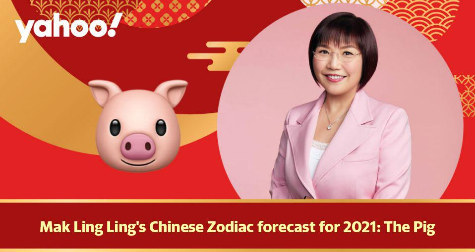 Mak Ling Ling's Chinese Zodiac forecast for 2021: The Pig