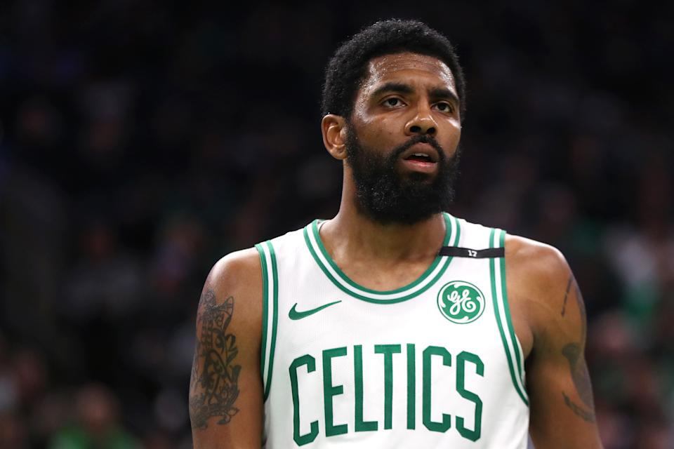 Kyrie Irving has been known to change his mind, but more signals are pointing to the point guard joining the Nets in free agency. (Getty)