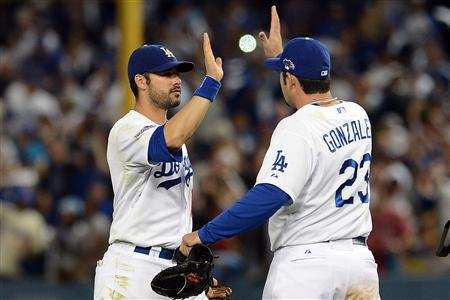 MLB: NLCS-St. Louis Cardinals at Los Angeles Dodgers