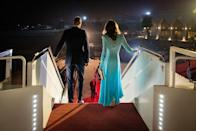 <p>Prince William and Kate arrived in Pakistan for their royal tour. </p>