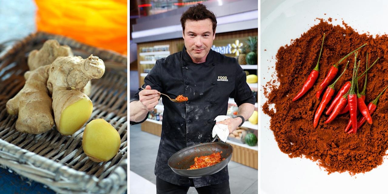 <p>Celebrity chef and health advocate Rocco DiSpirito explains why livening up your dishes with certain flavors can also burn calories.</p>