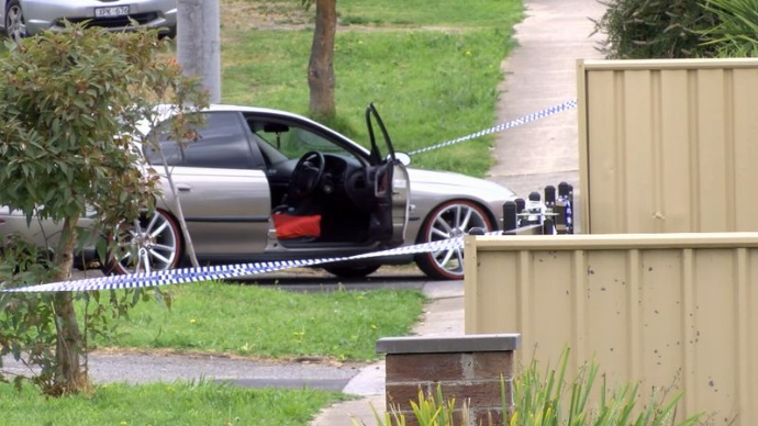 Car outside Kiddy Place Childcare Centre in Epping, Melbourne, following death of toddler in the car park.