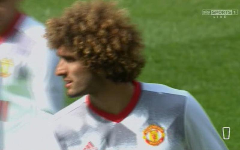 Fellaini - Credit: Sky Sports
