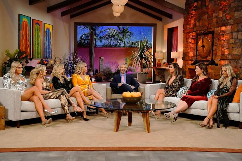 Gunvalson and the season 14 cast of The Real Housewives of Orange County | Nicole Weingart/Bravo