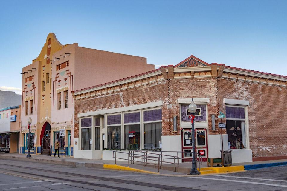 <p>Silver City was founded on the heels of a silver-mining boom in the present-day Gila Wilderness (the world's first wilderness area, dedicated in 1924). The town's main street maintains the original Pueblo Revival architecture. </p>