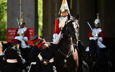 Members of the Household Cavalry will ride in the carriage procession at the Royal Wedding - Credit: WPA pool