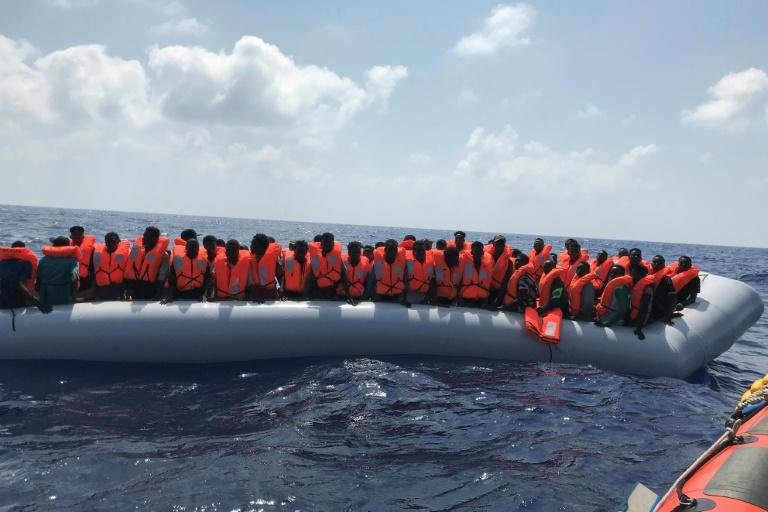 About 170 migrants are now on board the Ocean Viking