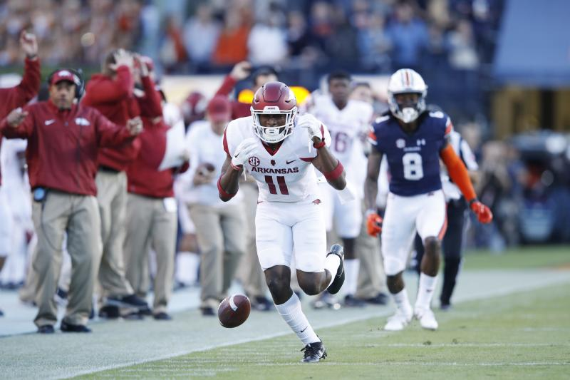 Arkansas Top CB Ryan Pulley Says Hes Out For The Season