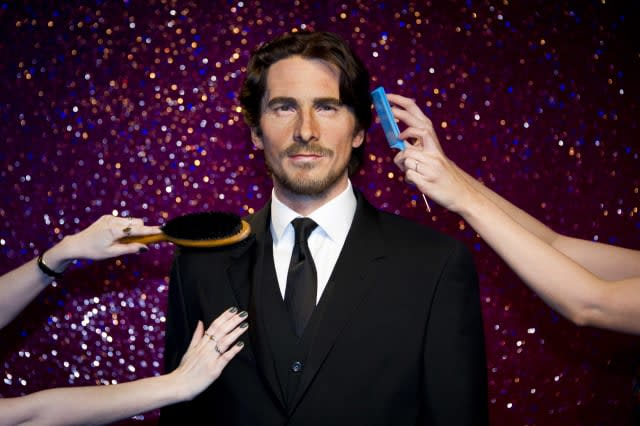 Christian Bale waxwork at Madame Tussauds