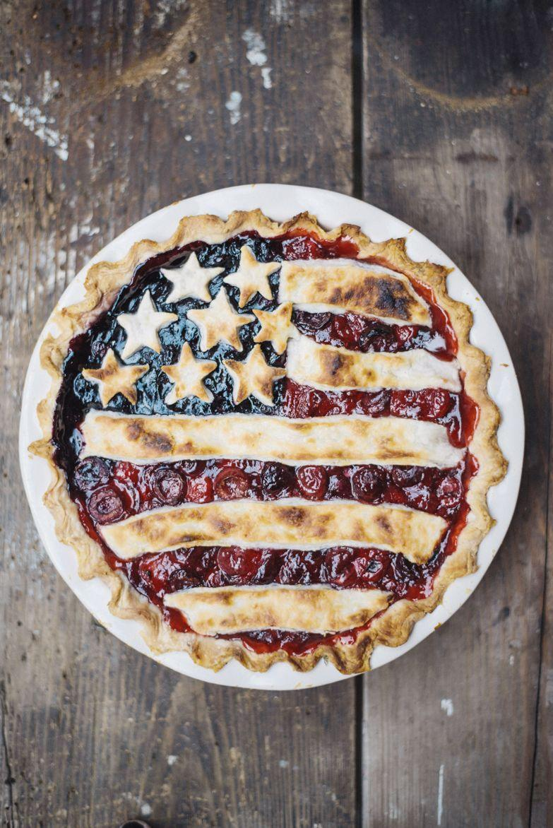 """<p>Everyone will be begging for a piece of this beautiful berry pie. </p><p><strong>Get the recipe at <a href=""""https://thewiegands.com/2014/07/all-american-pie-with-lemon-butter-crus.html"""" rel=""""nofollow noopener"""" target=""""_blank"""" data-ylk=""""slk:The Wiegands"""" class=""""link rapid-noclick-resp"""">The Wiegands</a>.</strong></p>"""